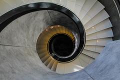 swirl down (Elbmaedchen) Tags: radisson hamburg staircase stairs treppenhaus treppenschnecke spirale whole treppenauge helix