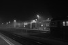 Asaru stacija (gatisrudins) Tags: asari jurmala asarustacija vilciens train bw night