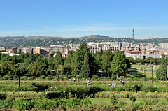 Pretoria - jardins du parlement (ClaudeVoyage) Tags: africa building union pretoria preview afriquedusud
