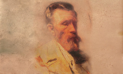 """Mentores, homenaje a Vincent van Gogh de Henri de Toulouse Lautrec (1887), y al padre de Pablo Picasso (1896). • <a style=""""font-size:0.8em;"""" href=""""http://www.flickr.com/photos/30735181@N00/8815684576/"""" target=""""_blank"""">View on Flickr</a>"""