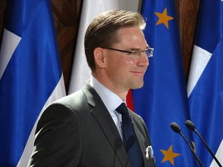 PM Katainen and PM Tusk in Gdansk 27.5.