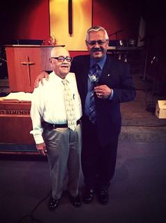 Hno. Juan y el Pastor Samuel