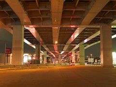 Skyway (elminium) Tags: road trafficlights nightview saitama skyway underroad dmcg1