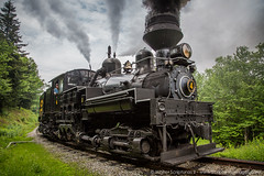 Cass Scenic Railroad 50th Anniversary (Scriptunas Images) Tags: railroad train steam westvirginia shay locomotive 50th cass cassscenicrailroad