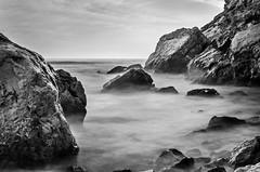 Playa de los Capellanes larga exposición / Chaplains beach long exposure (aldairuber) Tags: longexposure españa costa mar mediterraneo playa cataluña tarragona mediterraneansea salou dorada largaexposición