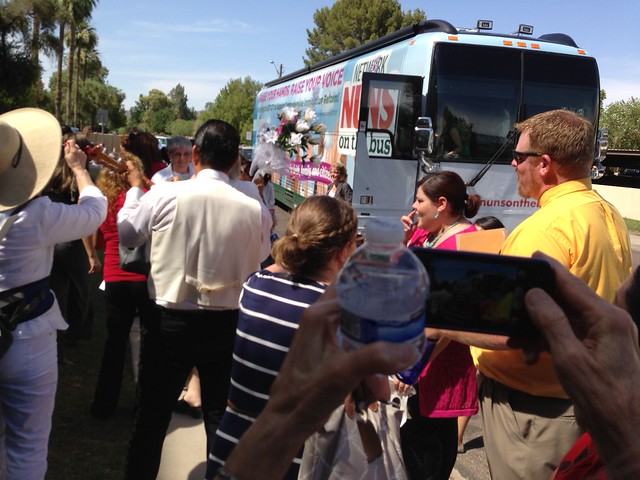 Nuns on the Bus in Phoenix