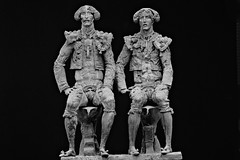 Tudors (michael_hamburg69) Tags: sculpture male men art bronze artist kunst skulptur mann sculptor mnner schleswigholstein knstler tudors 2013 bildhauer nordart bdelsdorf carlshtte  alexanderrukavishnikov