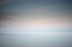 Interlude (Ger208k) Tags: ireland dublin seascape abstract colour reflection clouds dusk horizon calm minimal minimalism muted portrane gerardmcgrath