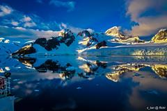 Good Morning, Paradise Bay, Antarctica (x_tan) Tags: antarctica glacier iceberg paradisebay akademiksergeyvavilov canonef24mmf14liiusm canoneos5dmarkiii