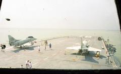 USS Lexington (Tejas Cowboy) Tags: fighter ship texas lexington tx aircraft navy jet 1997 christi corpus usn uss carrier 1990s 90s