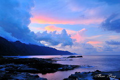 DSC_0069 (Anne Peng) Tags: 石梯坪 shitipingscenicarea 花蓮 hualien 台灣 taiwan sunset coastline
