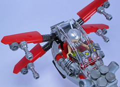 Friends Short Range Fighter (Bricksky) Tags: friends fighter lego space scifi xwing moc bricksky