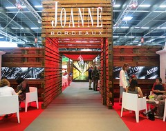 Seen or is that scene at Vinexpo