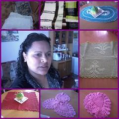 Artesanato 1 (NONA CRIATIVA) Tags: artesanato linda tapetes artes croch guardanapos