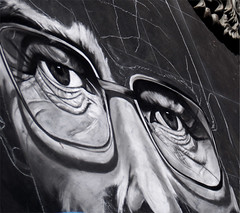 Breaking Chalk (mjaaaae) Tags: walter bw white art chalk arte brian bad via breaking cranston viaarte