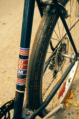 CCM Blue (Rolling Spoke) Tags: toronto bike bicycle rust v beater ccm
