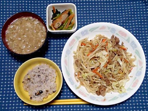2013年11月11日の晩ご飯