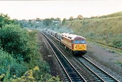 56041 (marcus.45111) Tags: landscape grid diesel steel railway 1997 rotherham etruria clag ews teesyard class56 masborough 56041 ukbuilt classictraction 6eo9