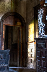 Ouerbacker Mansion - Explore Kentucky Project (Dr_Fu_Manchu) Tags: door urban abandoned hall nikon decay doorway louisville mansion ouerbacker d7000 johnjmiller explorekentuckyproject