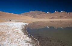 Tso Kiagar, a small lake near Tso Moriri (Color Odyssey) Tags: trip travel india mountains nature bike landscape leh himalayas ladakh photpgraphy