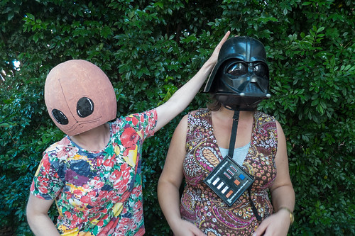 Darth Mummy and friend