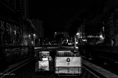 Around San Diego: Utility Vehicles (rmc sutton) Tags: blackandwhite bw night nikon sandiego highcontrast utility trains vehicles nikond800