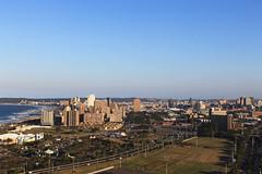 Durban, South Africa (Jade Higman) Tags: africa city travel blue sea sky beach canon landscape southafrica coast view south durban