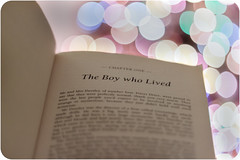 The Boy Who Lived (KatrinaMariexox) Tags: christmas love beauty canon book perfect harrypotter literature christmaslights bookworm jkrowling