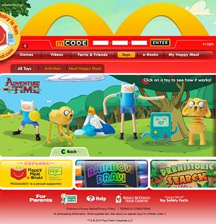 快樂兒童餐 最新贈品 Adventure Time 探險活寶系列