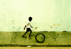 youth (Mikey B_) Tags: street boy india holiday colour slr film youth 35mm play cross young slide processed pondicherry pondi crosspro