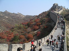 Great Wall at Badaling, Yanqing County (Alta alatis patent) Tags: wall tourists autumncolors greatwall badaling yanqingcounty