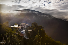 Adobe! (Arpan Kalita) Tags: morning home clouds east arunachalpradesh monpa northeastindia lumpo zemithang