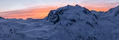 Monte Rosa (PhiiiiiiiL) Tags: sunrise schweiz switzerland rosa gornergrat zermatt monte wallis myswitzerland dufourspitze visipix vision:mountain=0712 vision:sunset=0686 vision:outdoor=099 vision:sky=0841 vision:snow=0594