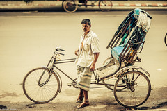 essay on a rickshaw puller