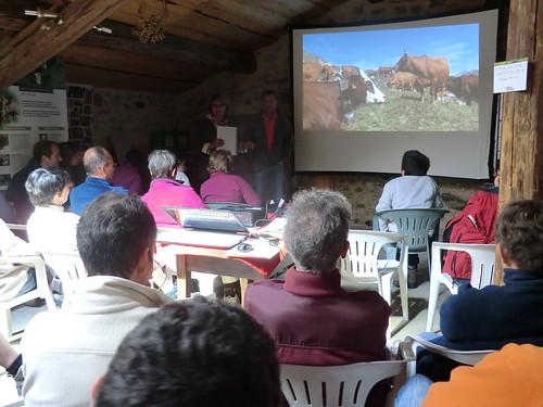 Conférence alpage Roselend © M. NGuyen - Fondation Facim