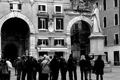 Verona #4 (f_capacchione) Tags: city italy italia dante tourist verona piazza