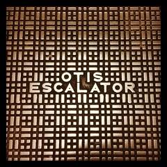 Otis Escalator (SHRVN8R) Tags: classic vintage square logo otis escalator squareformat hefe