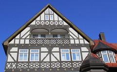 (:Linda:) Tags: germany town bluesky thuringia porch halftimbered eclecticism suhl historicism gründerzeit eklektizismus