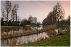 Spring: Almere beauty (H. Bos) Tags: city nature beautiful evening licht spring natuur mooi avond lente stad almere magiclight magisch