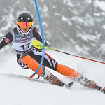 Will KORNYA of Ontario takes 1st Place in the U14 Boys Slalom Race held on Whistler Mountain on April 5th, 2014. Photo by Scott Brammer - coastphoto.com