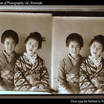 CUTE GEISHA AND MAIKO  -- Original Stereo Proof-Print in the CMO thumbnail