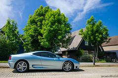 Ferrari 360 Modena (Jeroenolthof.nl) Tags: blue italy holland netherlands jeroen nederland 360 ferrari modena scuderia oud maranello italië the loosdrecht olthof oudloosdrecht wwwjeroenolthofnl jeroenolthofnl httpwwwjeroenolthofnl
