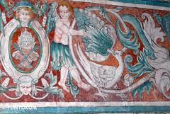 Metztitlán (puntokom) Tags: church méxico mural paint iglesia convento dibujo mx fresco pintura hidalgo religión sxvi metztitlán