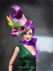Portrait of a lady (kingdomdoll) Tags: hat fashion doll kingdom re eira resinfashiondoll kingdomdoll dubunni