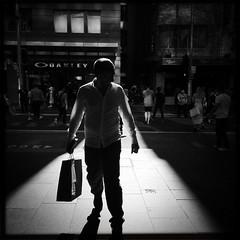 Righto sunshine (Albion Harrison-Naish) Tags: sydney streetphotography australia newsouthwales unedited iphone georgest sydneycity mobilephotography iphoneography sydneystreetphotography hipstamatic blackeyssupergrainfilm iphone5s janelens albionharrisonnaish