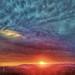 Poway HDR Sunset ~ digital paint