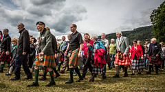 Clan Parade (FotoFling Scotland) Tags: event highlandgames scotland aberfeldy clan kilt parade perthshire