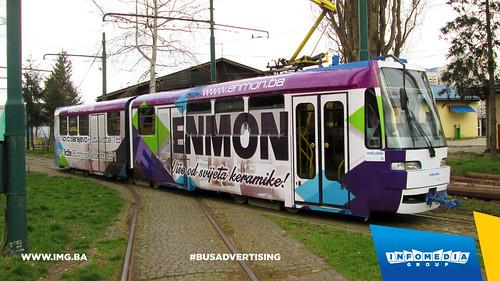 Info Media Group - Enmon, BUS Outdoor Advertising, Sarajevo 04-2015 (2)