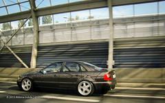Brown Audi a4 (Aldona Indua) Tags: auto motion cars car poland polska automotive audi tuning vag motoryzacja