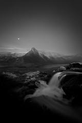 TRYFAN AT NIGHT (LOKKOFOTO) Tags: findyourepic ogwen landscape samyang nightscape blackandwhite cymru water llynpadarn 6d northwales cwmidwal stars